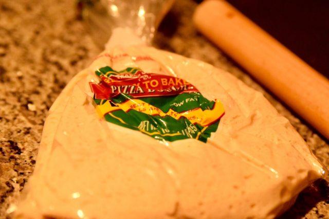 チキンブロッコリーピザ