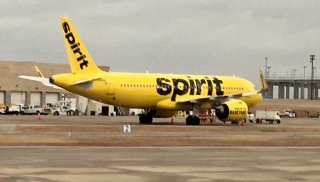 Spirit Airlines CMH opening