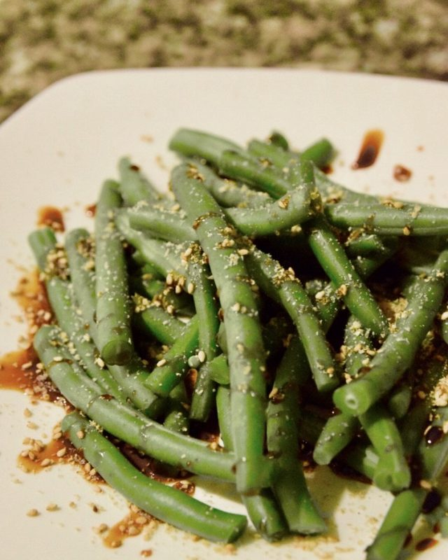 Green Beans Hot Salad