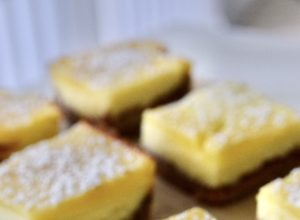 Lemon Cream Cheese Bar