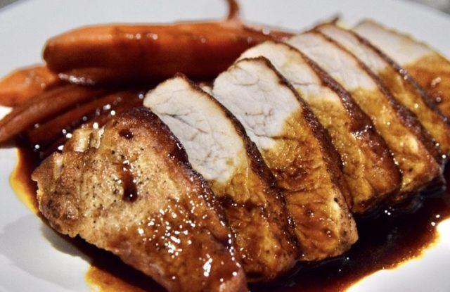 Honey Soy Sauce Grilled Pork