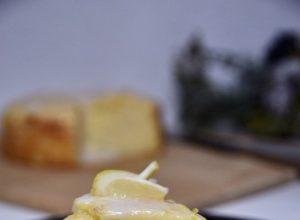 Italian Lemon Ricotta Cheese Cake