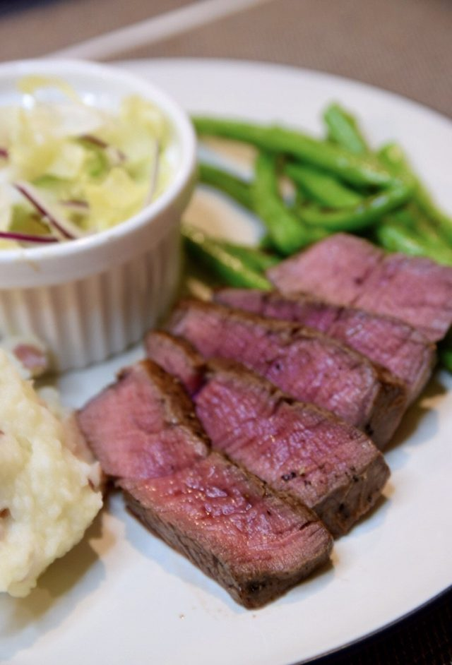 Bourbon Butter Steak
