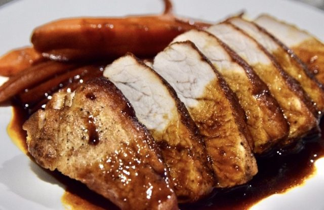 Honey Soy Sauce Grilled Pork